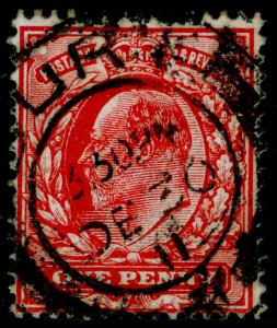 SG280 SPEC M7(1), 1d rose-red, USED. Cat £25.