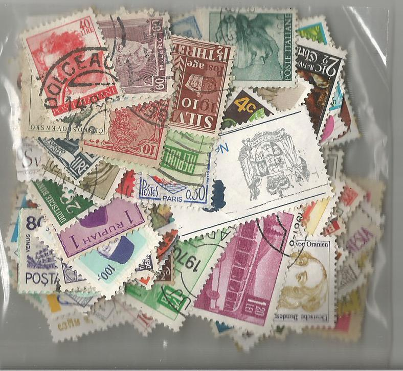 Worldwide 100 used and mint