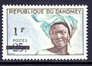 Dahomey 211 mint never hinged scv $ 0.30