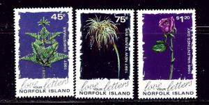 Norfolk Is 633-35 MNH 1997 Christmas