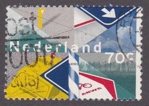 Netherlands # 649, Royal Dutch Touring Club Centennial, Used,