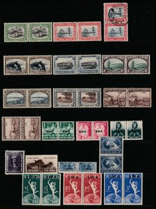 South West Africa a small lot of early pairs M&U