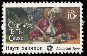 #1561 10c  Haym Solomon 1975 Mint NH