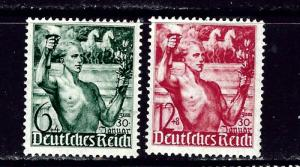 Germany B116-17 MH 1938 issues