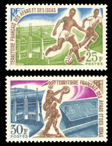Afars and Issas 1967 Scott #315-316 Mint Never Hinged