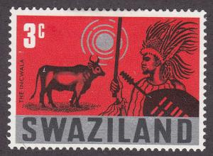 Swaziland 134 The Incwala 1968