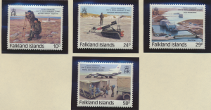 Falkland Islands Stamps Scott #457 To 460, Mint Never Hinged - Free U.S. Ship...