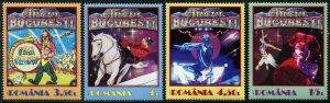 HERRICKSTAMP NEW ISSUES ROMANIA Sc.# 6021-24 Bucharest Circus