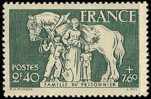 France - B160 - MNH - (Penciled Back) - SCV-1.00