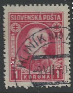 Slovakia #31 1k Andrej Hlinka