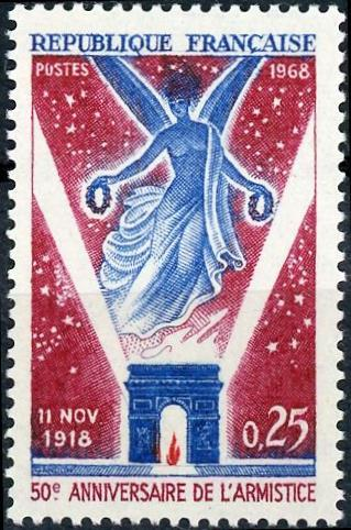 France #1226 25c 50th Anniv End of WWI MNH