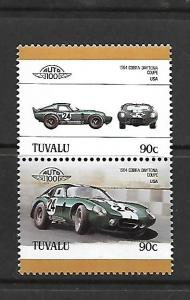 TUVALU, 395, MNH, AUTOMOBILE TYPE