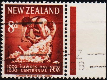 New Zealand. 1958 8d S.G.770 Fine Used