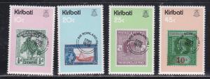 Kiribati # 341-344, Sir Rowland Hill, Mint NH, 1/2 Cat.