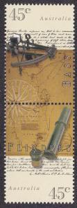 Australia # 1701a, Sextant & Telescope, NH, 1/2 Cat.