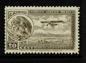 Mexico SC# C13 Mint Hinged / Hinge Rem / Light Left Creases - S7954