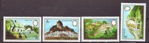 J22397 Jlstamps 1983 belize set mnh #680-3 mayan