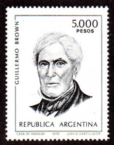 ARGENTINA 1262 MNH SCV $5.00 BIN $3.00 PERSON