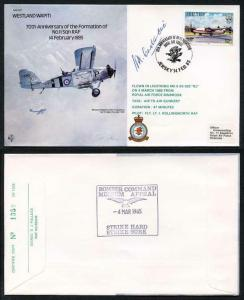 B17c 70th Ann of the Formation of No.11 Squadron Signed H. Constantine (T)