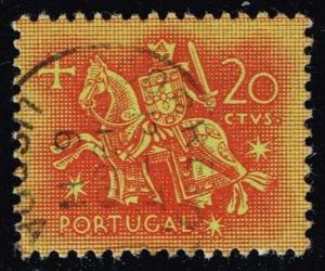 Portugal #763 Equestrian Seal of King Diniz; Used (0.25)