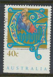 Australia SG 1432  Used  x booklet bottom margin imperf - Christmas