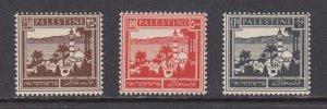 Palestine   #82-84    mnh    cat $29.50