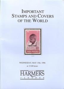 Harmers: Sale # 4644  -  Important Stamps and Covers Of T...