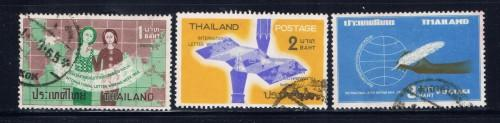 Thailand 424-26 Used 1964 issues