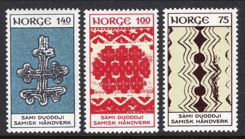Norway 623-625 MNH VF