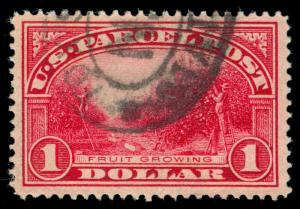 MOMEN: US STAMPS #Q12 USED XF