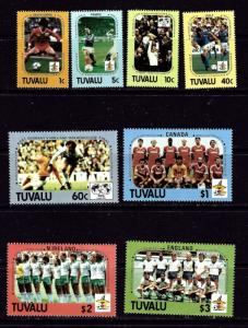 Tuvalu 364-71 NH 1986 World Cup Soccer