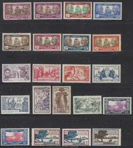 New Caledonia 21 Older Stamps Mostly Mint