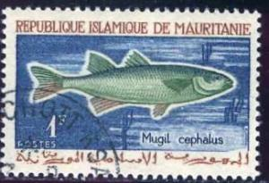 Mauritania 1964: Sc. # 177; O/Used CTO Single Stamp