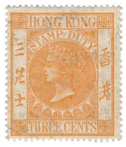 (I.B) Hong Kong Revenue : Stamp Duty 3c
