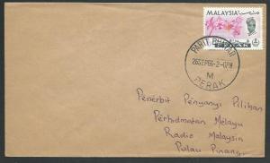 MALAYSIA PERAK 1966 cover PARIT BUNTAR cds.................................60391