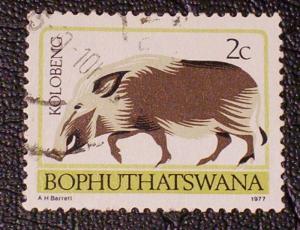 South Africa - Bophuthatswana Scott #6a used