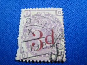 GREAT BRITAIN  -  SCOTT #94  -  Used      (brig)