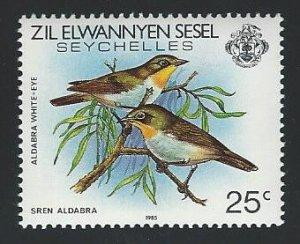 Seychelles Zil Elwannyen Sesel  1985 imprint   mnh sc 98