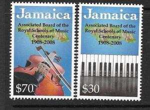 JAMAICA SG1151/2 2008 ABRSM MNH