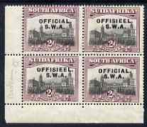 South West Africa 1929 Official 2d Union Buildings mounte...