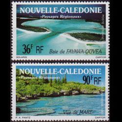NEW CALEDONIA 1991 - Scott# C224-5 Scenic Views Set of 2 NH