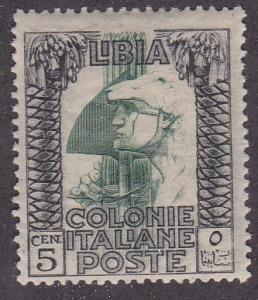 Libya # 22, Roman Legionnaire, watermarked, Mint NH