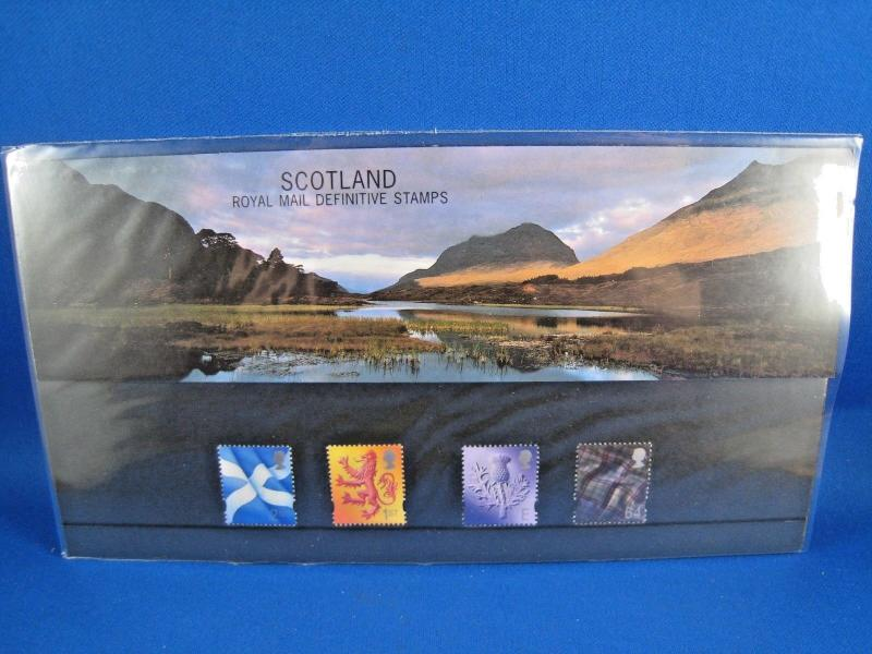 SCOTLAND PHILATELIC PRESENTATION PACK - 1999 - ROYAL MAIL DEFINITIVE STAMPS