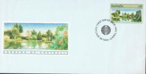 AUSTRALIA 1989 $10 ADELAIDE BOTANIC GARDENS FIRST DAY COVER