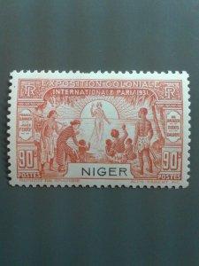 Niger 75 F-VF MH  - Scott $ 5.75