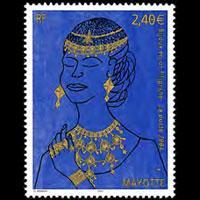 MAYOTTE 2004 - Scott# 206 Gold Jewelry Set of 1 NH