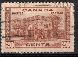 CANADA - 20c Fort Gary - SC243 Used
