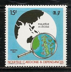 New Caledonia 567 1987 Philately single MNH