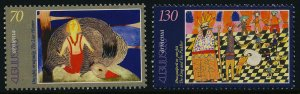 Armenia 608-9 MNH Fairy tales, The King & the Peddler, The Liar Hunter