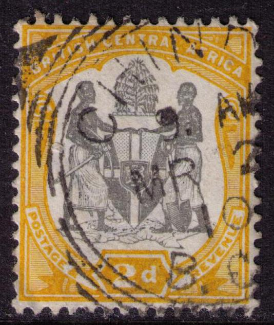 British Central Africa #  45 Used VF Chinde Cat $ 2.50+++